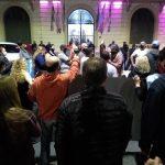 LA MATANZA: MARCHA Y CONCENTRACIÓN DE VECINOS PIDIENDO JUSTICIA POR LA INSEGURIDAD